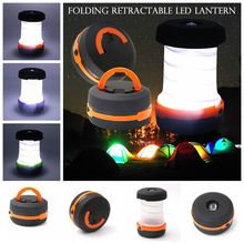 1 Piece EDC Outdoor Camping Tent Accessory Folding Lamp Emergency Light Hanging  Night Mini Portable Travel Tools D20