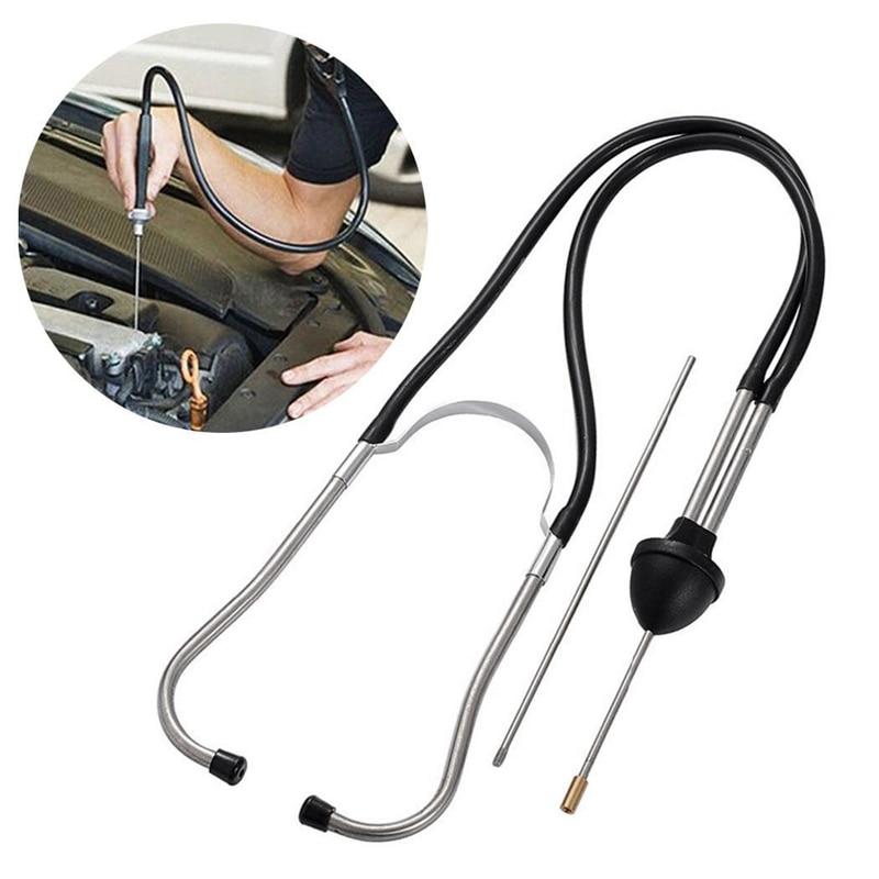 Car Stethoscope Auto Mechanics Engine Cylinder Stethoscope Hearing Tool Car Engine Tester Diagnostic Tool