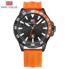 MINI FOCUS orologi da uomo di marca di lusso orologio da polso sportivo al quarzo impermeabile moda Relogio Masculino Reloj Hombre cinturino in Silicone