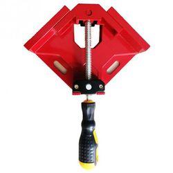 Wielofunkcyjny 90 stopni w prawo kąt klip ramka na zdjęcia narożnik zacisk pojedynczy uchwyt zaciski uchwyt rogu narzędzia ręczne do obróbki drewna w Zestawy narzędzi ręcznych od Narzędzia na