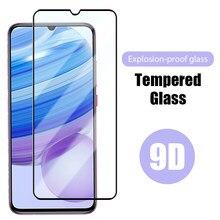 Защитное стекло 9D с полным покрытием экрана для Redmi Note 9 Pro, 9S, Защитное стекло для Xiaomi Redmi Note 8 Pro, 8T, 7, K30, ультрастекло