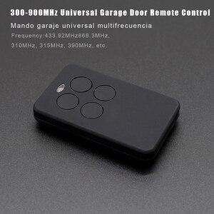 Image 2 - 300 900MHz Garage gate remote controls clone control garage door remote 868.35mhz 433.92MHz remote control garage rolling code
