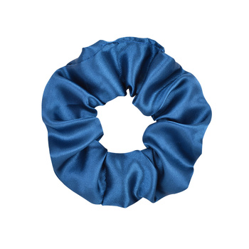3.9 inch Women Silk Scrunchie Elastic Handmade Multicolor  Hair Band Ponytail Holder Headband Hair Accessories 29