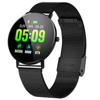 ABHU New Smart Watch F25 Smart Bracelet Full Screen Contact GPS Tracker Heart Rate Blood Pressure Step Smart Bracelet Sports Wat