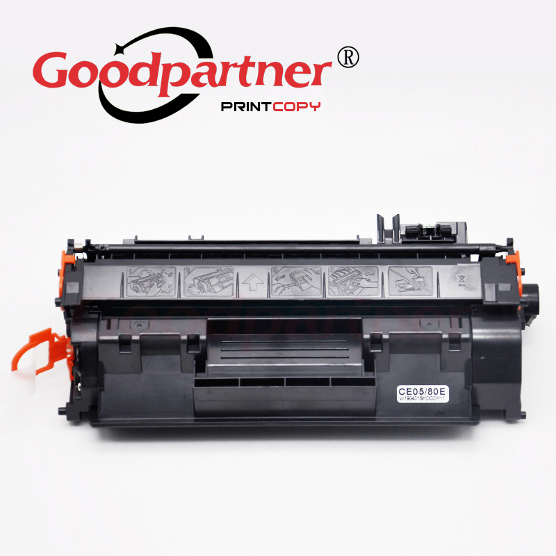 CE505X Toner Cartridge Replacement for HP Laserjet P2035 P2035n P2055 P2055d P2055dn P2055x Printer Toner High Yield 05X 5 Pack Black - by VaserInk