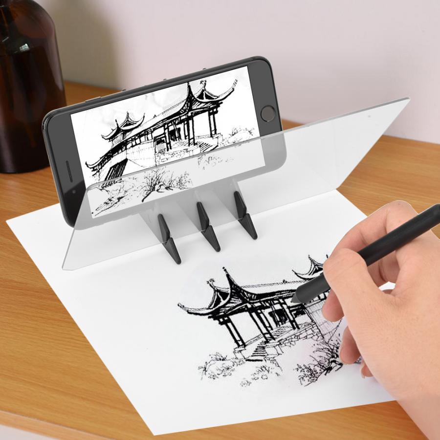 Art Kit Stencil Board Light Box Tracing Drawing Board Sketch Mirror Reflection Phone Dimming Art Supply Art Sets Aliexpress
