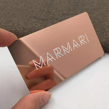 professional fancy luxury membership promotion cards blank copper rose gold plated business card etched metal card metal membership card production of metal cards vip card magnetic cards vip card metal card card card customized proof shoot con