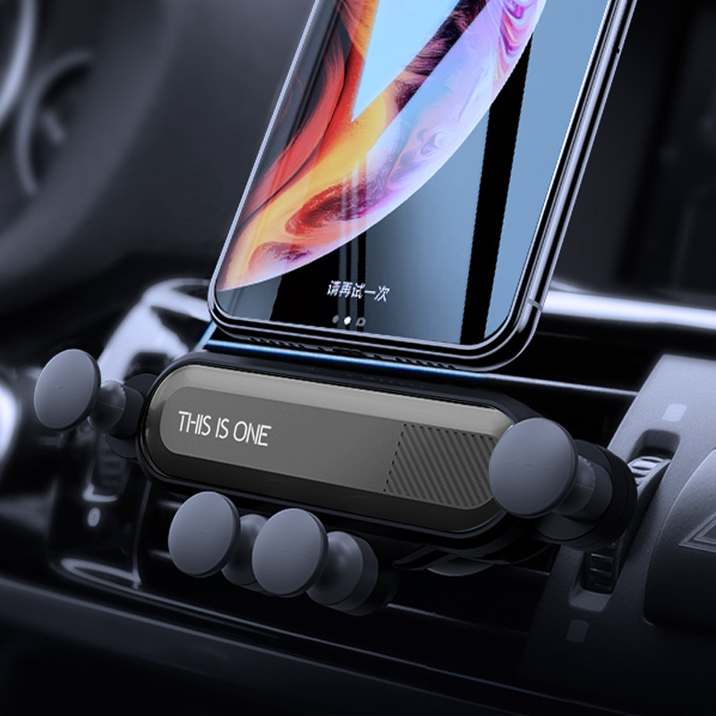 Gravity Stand For Phone In Car Stand No Magnetic For IPhone X 8 Xiaomi Support2019 New One Universal Car Phone Holder GPS Stand