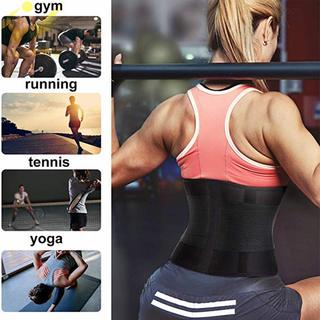 LAZAWG Women Waist Trainer Belt Tummy Control Waist Cincher Trimmer Sauna Sweat Workout Girdle Slim Belly Band Sport Girdle 1