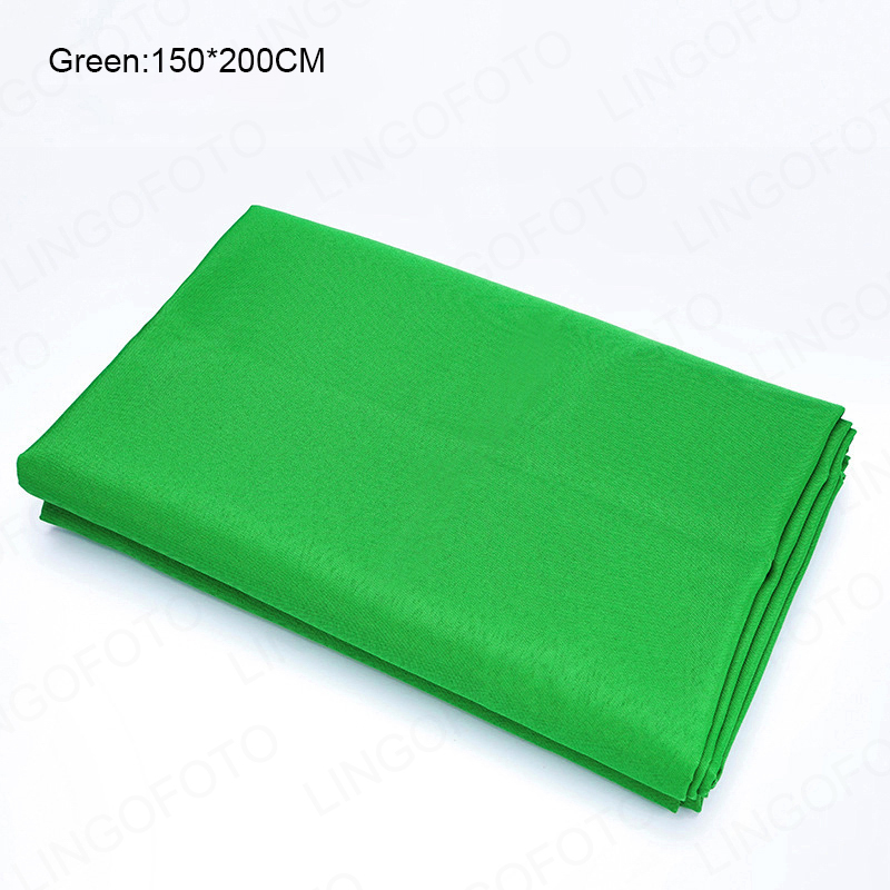 Fundo de fotografia, tela verde para estúdio de fotos, vídeo com borda de corte a laser ah1011a