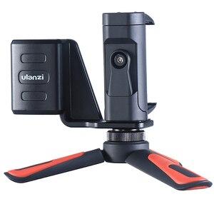 Image 2 - Mini trípode portátil Ulanzi para DJI Osmo, mango de cámara de bolsillo, Clip de montaje para teléfono, soporte de escritorio, accesorios para trípode