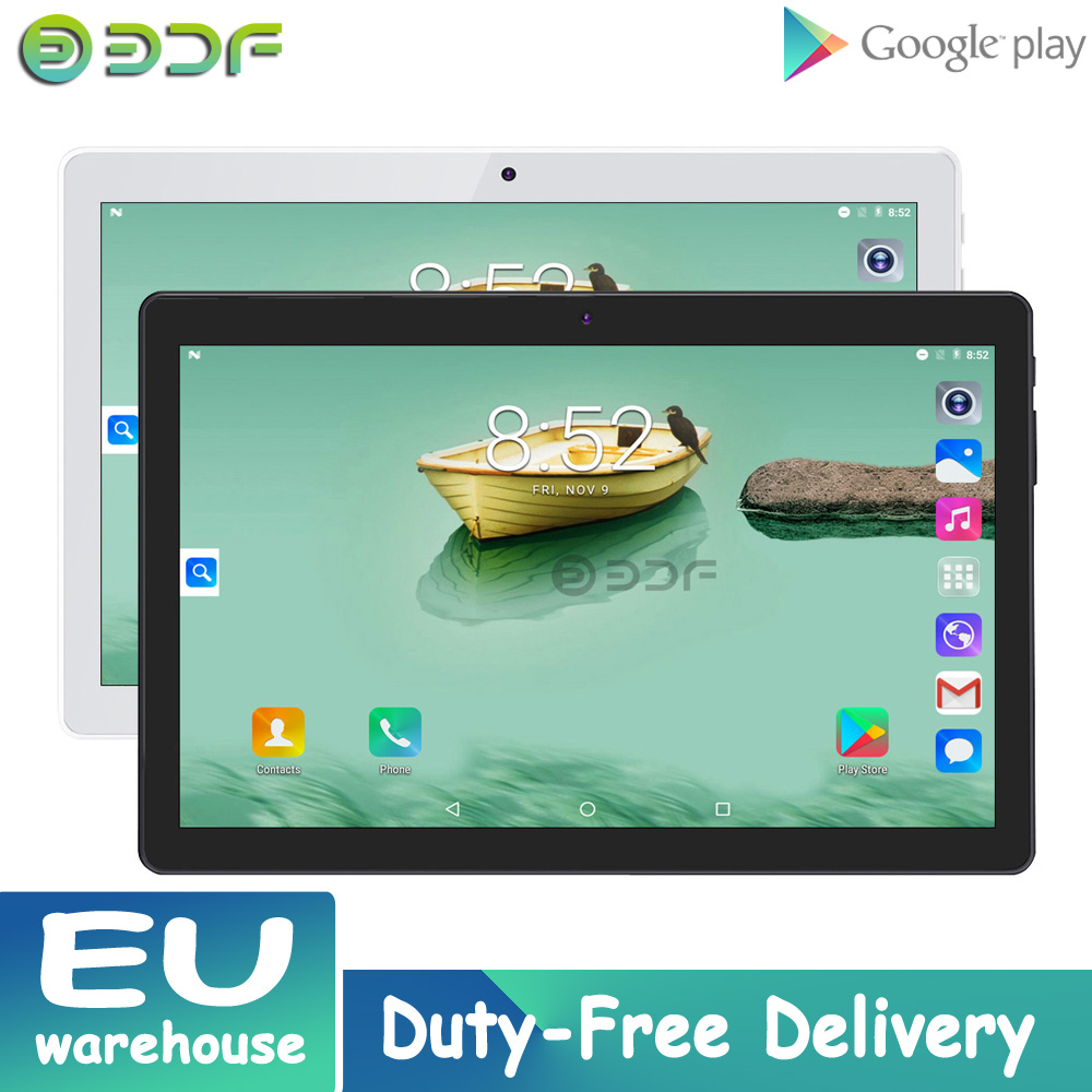 New 10 Inch Android Quad Core 32G IPS Screen Tab Camera WIFI Tablet 3G Network Dual Sim Tablets GPS Google Play Bluetooth