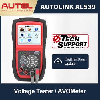 Autel AutoLink AL539 Auto Code Reader OBDII Electrical Test Tool AL539 OBD2 Scanner Internet Update Voltage Circuit Start Tester - DISCOUNT ITEM  20 OFF Automobiles & Motorcycles
