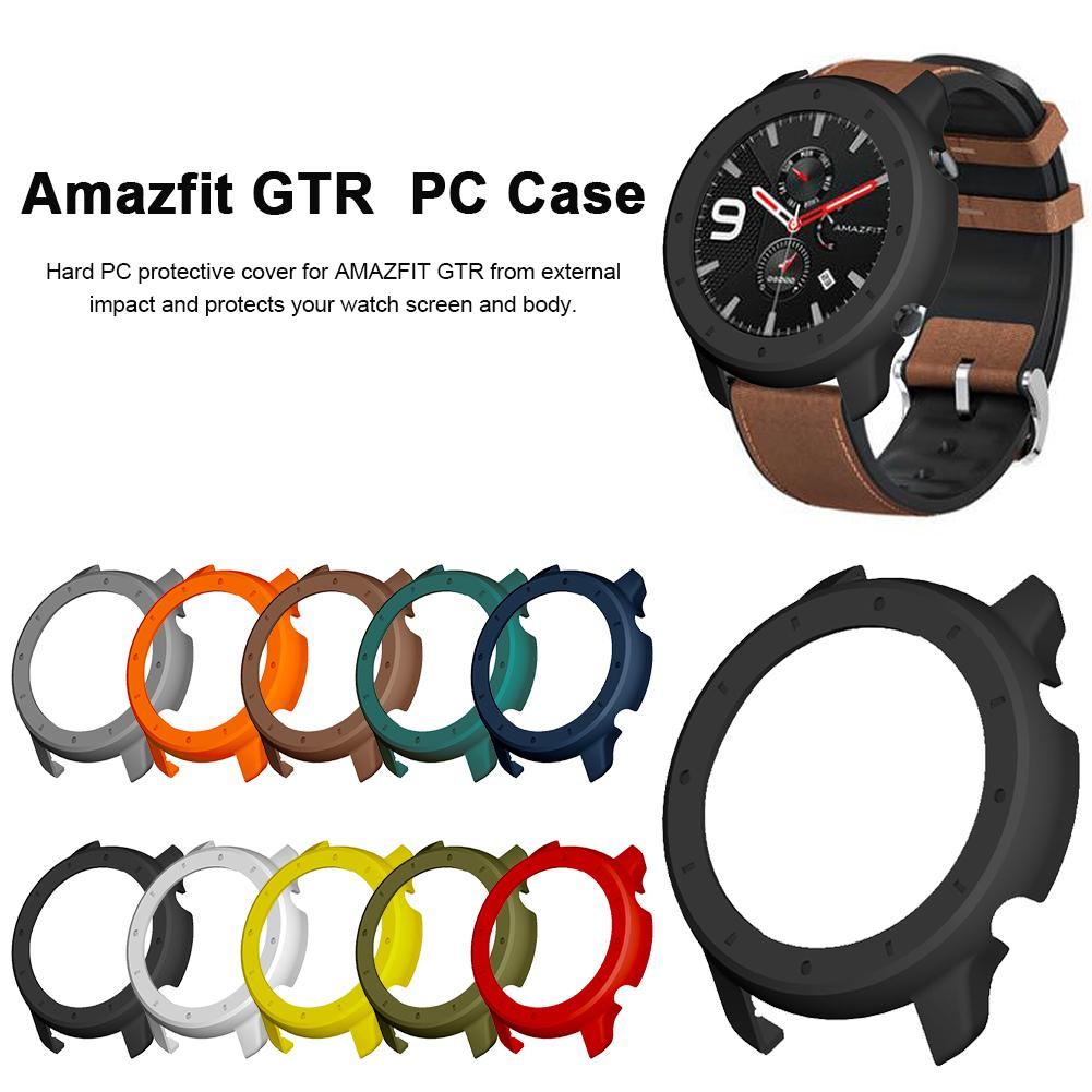 Watch Protective Case Replacement Hard PC Protective Case Cover Shell Frame Watch Accessories For Huami Amazfit GTR Watch