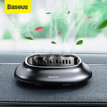 Baseus Mini Legering Auto Luchtverfrisser Natuurlijke Parfum Geur Holder Air Outlet Aromatherapie Effen Diffuser Auto Luchtverfrisser