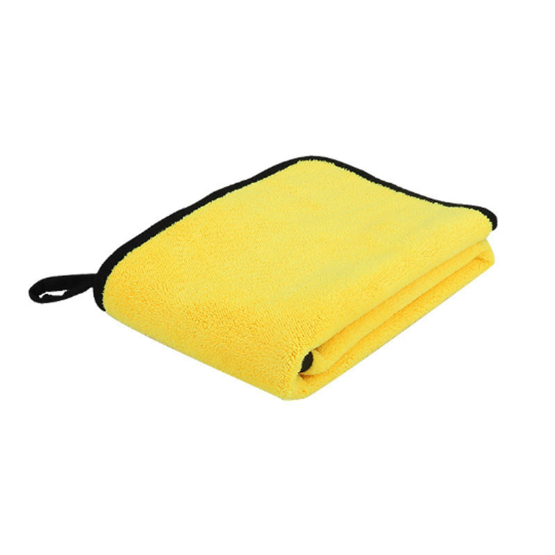 Easy Clean Car Care Polishing Wash Towel Plush Microfiber Washing Dry Towel Thick Plush Polyester Fiber Car Cleaning Cloths New