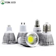 led light 9W 12W 15W 20W COB MR16 GU10 E27 E14 LED Dimming Sportlight lamp High Power bulb MR16 12V E27 GU10 GU5.3 E14 COB bulb