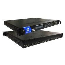 Hot Products H.264 Video Encoding 12 Channels HD to RF Modulator DVB-C DVB-T ATSC ISDB-T COL5011H ixtk90n25l2 to 264
