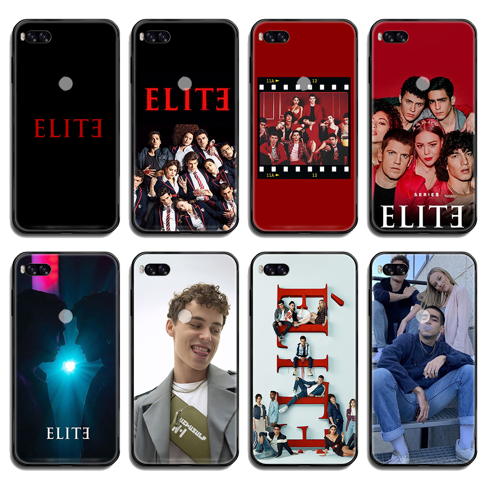 Spanish TV series Elite painting coque shell black Phone case For Xiaomi Redmi Mi Note 3 5 6 8 9 A1 2 Max3 Mix2 X SE Lite Pro