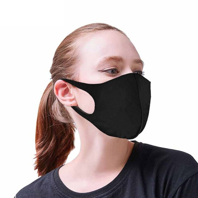 PM2.5 Anti Dust Mask Mouth Breath Valve Anti-Haze Activated Carbon Filter Respirator Mouth-Muffle Bacteria proof Flu Face Masks 4