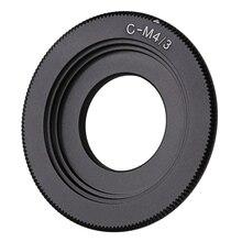 цена на Black C Mount Lens For Micro 4/3 Adapter E-P1 E-P2 E-P3 G1 GF1 GH1 G2 GF2 GH2 G3 GF3 C-M4/3