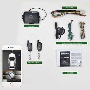 Автомобильная сигнализация, Автомобильный Запуск, безопасность, мобильное приложение, центральный замок, Кража автомобиля, четырехъядерны...