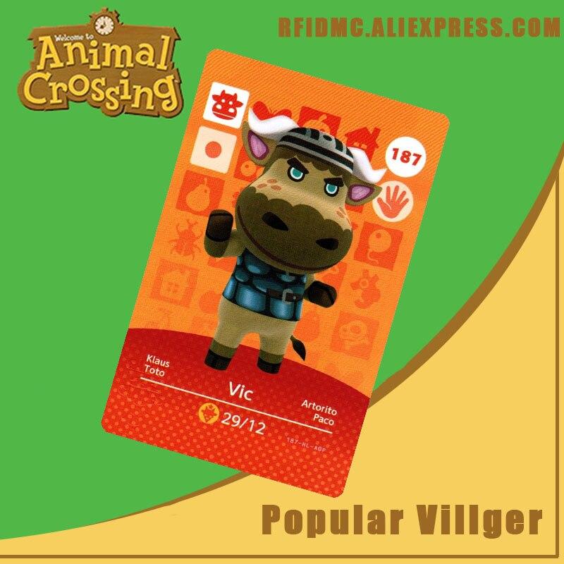 187 Vic Animal Crossing Card Amiibo For New Horizons