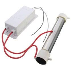 AC 110V 3 g/hr Generator ozonu przewodem ozonowym DIY dla roślina wodna samochód oczyszczacze powietrza urządzenia domowe gospodarstwa domowego w Oczyszczacze powietrza od AGD na