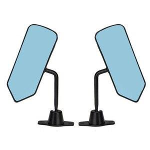 Image 5 - ل 96 00 سيفيك 2/3DR F1 نمط دليل قابل للتعديل ألياف الكربون نظرة رسمت مرآة الرؤية الجانبية