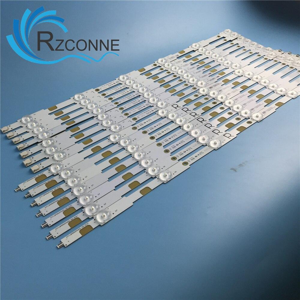 LED Backlight Strip Lamp For EX-55037003 55037013 LBM550E0601-dq-1 DR-3 R L TPT550U2 55pus6272 55put6101 55puh6101 55puk4900/12