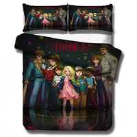 Stranger Things Bedding Set Duvet Covers Pillowcases Science Fiction Movies Comforter Bedding Set Bedclothes Bed Linen(NO sheet)
