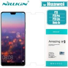 Huawei 9 P20 Pro Protetor de Tela De Vidro Temperado NILLKIN H Rígido de Proteção de Vidro Temperado de Segurança Claras sobre Huawei P20 Lite nilkin