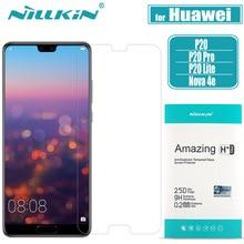 Huawei P20 Pro Gehärtetem Glas Screen Protector NILLKIN 9H Fest Klar Sicherheit Schutz Ausgeglichenes auf Huawei P20 Lite nilkin
