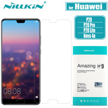 Huawei P20 Pro Tempered Glass Screen Protector NILLKIN 9H Hard Clear Safety Protective Tempered Glass on Huawei P20 Lite Nilkin