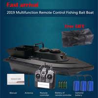 Bateau de pêche Rc appât bateau avec Double moteur 1.5kg réservoirs de chargement RC bateau télécommande dispositif poisson jouets bateau