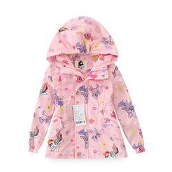 2020 crianças primavera jaquetas meninas uncorn blusão crianças com capuz velo chuva casacos à prova de água roupas teeangers menina blazer