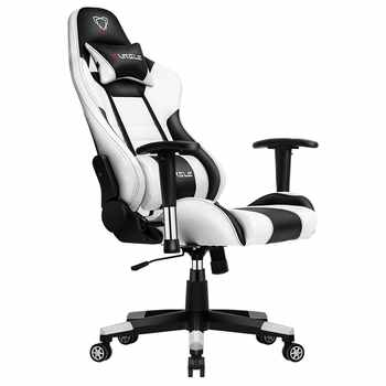 Furgle gaming chair white with ultra soft leather boss chair office chair furniture wcg game computer chair play free shipping - DISCOUNT ITEM  40% OFF All Category