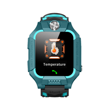 Thermometer Kids watch tracker LBS positioning Children watches SOS call remote listening IP67 waterproof real-time temperature