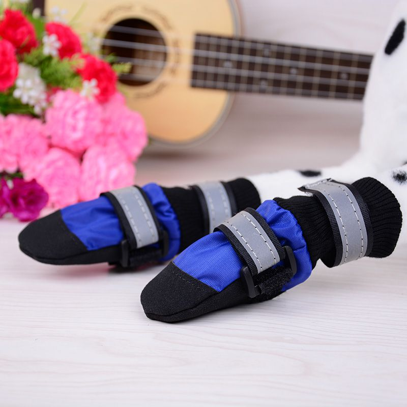 Dog Shoes Large Pet Soft Bottom Comfortable Soft And Breathable Walking Claws Dog Shoes Pet Dog Out Supplies