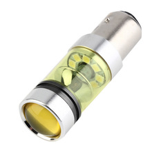 1pcs DC12V 20SMD 100W High Power H8 H16 HB4 3157 7743 white yellow color Car LED fog light bulb Super bright turn signal