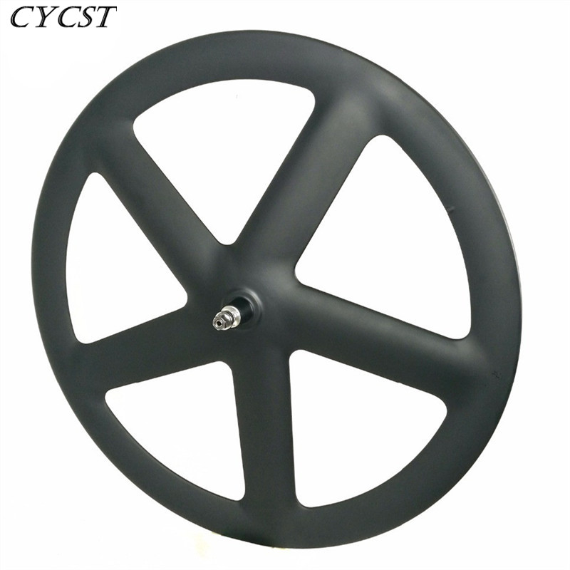 700c carbon <font><b>5</b></font> <font><b>spokes</b></font> road <font><b>wheels</b></font> carbon clincher/tubular wheelset track <font><b>5</b></font> <font><b>spokes</b></font> <font><b>wheels</b></font> Fixed gear <font><b>spokes</b></font> <font><b>wheels</b></font> free shipping image