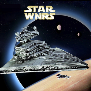 Image 1 - 81029 STAR WARS Imperial Star Destroyer ULTIMATE COLLECTOR Building Blocks Bricks Compatible lepinglys 10030 Birthday Gift Toy
