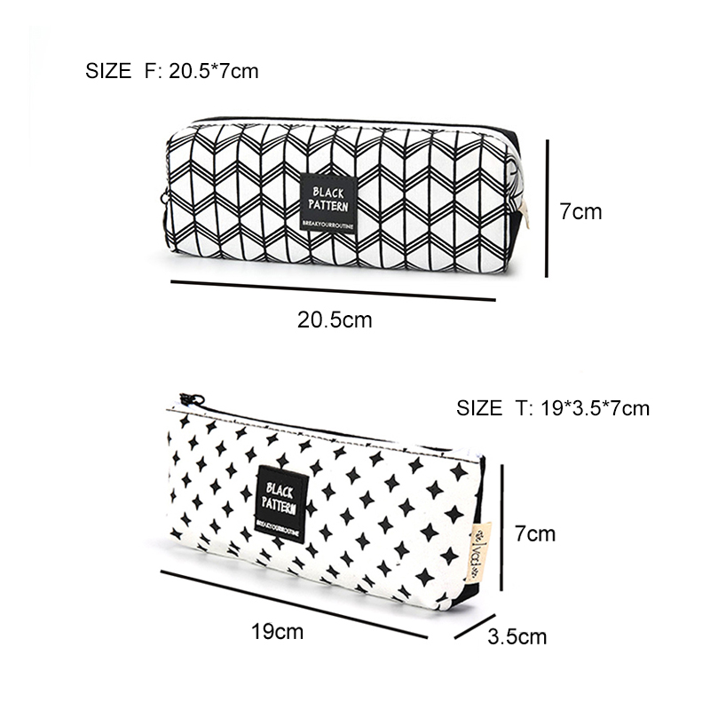 Supplies Stationery Pencil Case Pen Box Pouch Bag Bags School Canvas Cute Cheap Art Vintage Stationery Large South Korea Boys in Pencil Cases from Office School Supplies