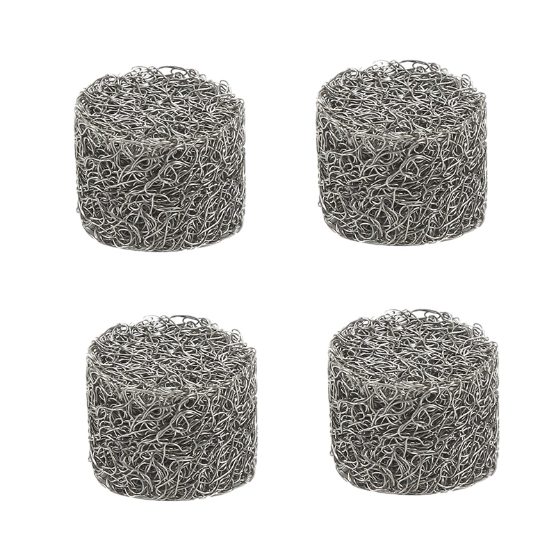 4Pcs Stainless Steel Pressure Car Washer Foam Lance Mesh Filter Replacement Foam Sprayer Mesh Filter For Car Wash Sprayer