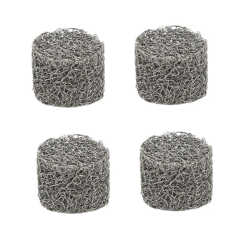 4Pcs Stainless Steel Pressure Car Washer Foam Lance Mesh Filter Replacement Foam Sprayer Mesh Filter For Car Wash Sprayer