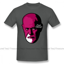 Freud T Shirt Pink Freud T-Shirt Short-Sleeve 100 Percent Cotton Tee Shirt Funny Streetwear Graphic Man Plus size Tshirt