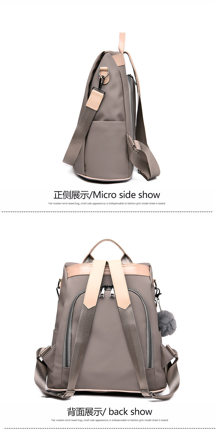 He3624ba53bd449bf9578d2230d51f01fd 2019 Women Leather Anti-theft Backpacks High Quality Vintage Female Shoulder Bag Sac A Dos School Bags for Girls Bagpack Ladies