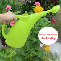 2L Portable Tool Plant Sprinkler Handle Long Mouth Ecofriendly Home Gardening Practical Potted Watering Can With Shower Kettle