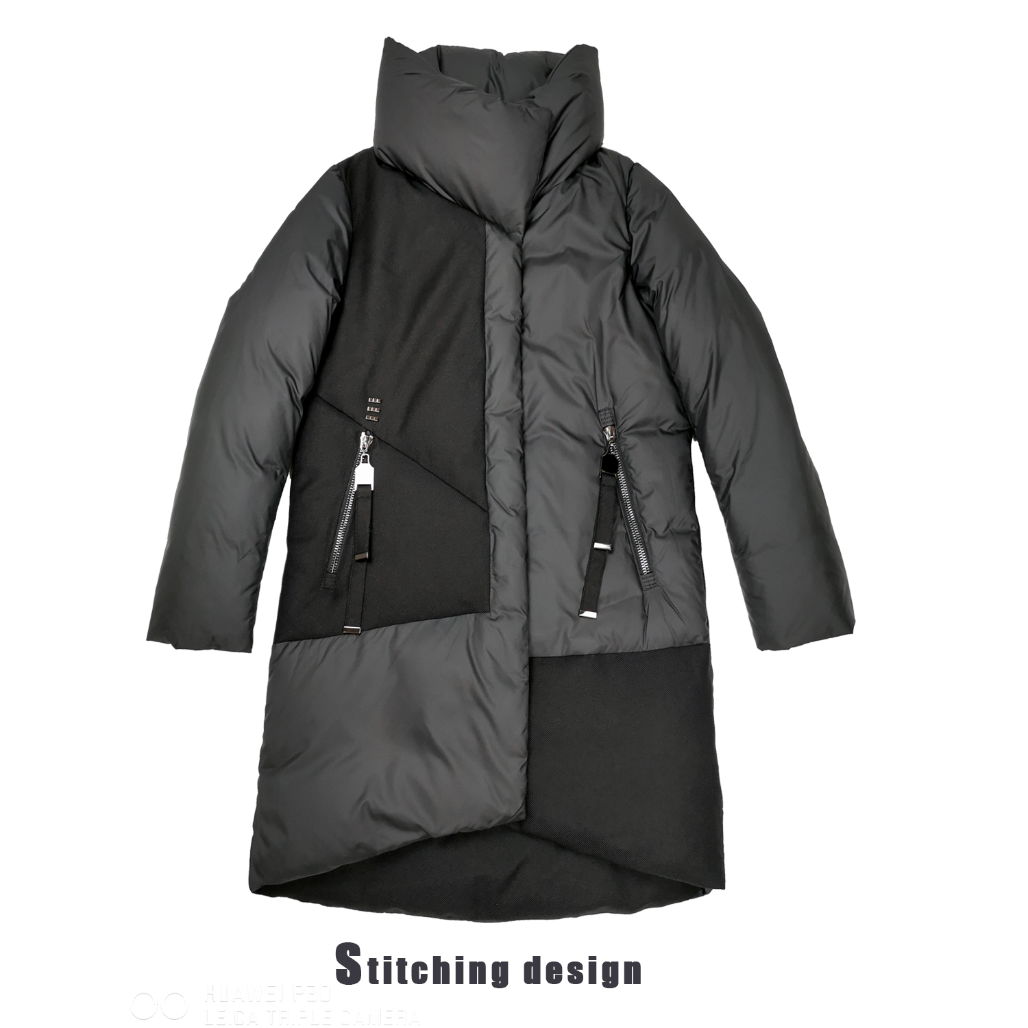 2019New fashion Winter Women   Coat   Jacket With Hood And Winter Parks for Women High Quality Jacket With Hats Fashion Women's   Coat