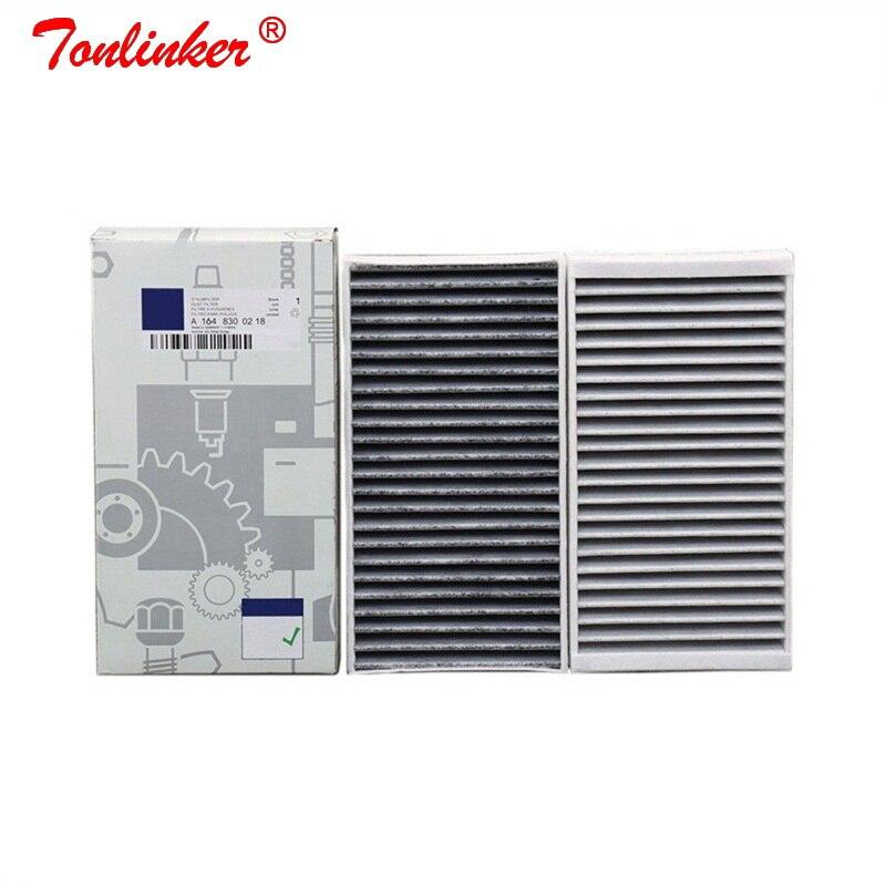 Cabin Filter A1648300218 1Pcs For Mercedes benz R-CLASS W251 V251 2005-/ GL-CLASS X164 2006-/M-CLASS W164 2005-2012 Model Filter